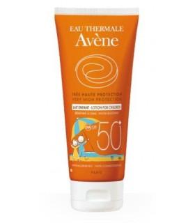 Avene leche niños SPF50+ para pieles sensibles 100 ml