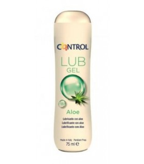 Control Gel Lubricante Aloe 75 ML