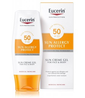 Eucerin Sun Allergy Protect SPF50+  Sun Cream Gel 150 ML