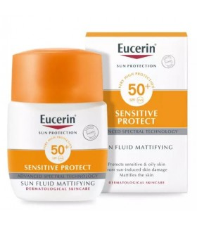 Eucerin Sun Protection SPF50+ Sensitive Protect Mattifying 50 ML