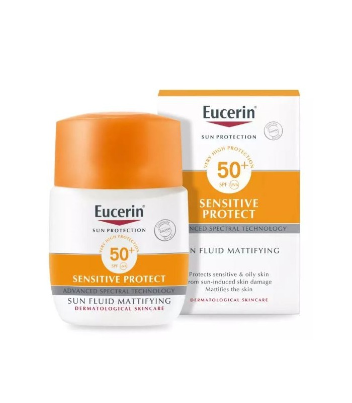 Eucerin Sun Protection SPF50+ Sensitive Protect Mattifying 50 ML