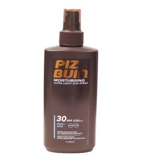 Piz Buin Moisturising Ultra Light FPS30 Spray Solar 200 ML