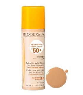 Bioderma Photoderm Nude Touch SPF50 Color Claro 40 ML