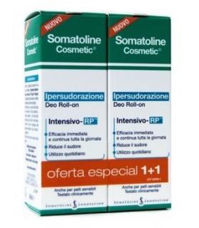 Somatoline Cosmetic Desodorante Roll On Hipersudoración Pack 2X1