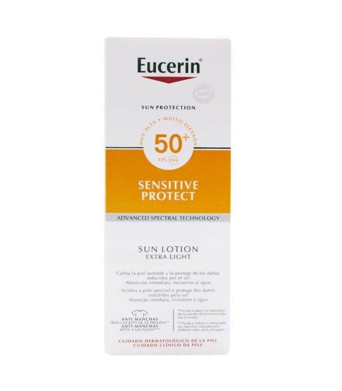 Eucerin Sun Protection SPF50 Loción Extra Light 150 ML