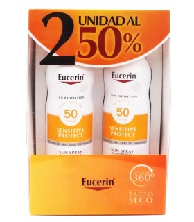 Eucerin Sun Protection SPF50 Sun Spray Transparent Dry Touch 2ºUnd 50%