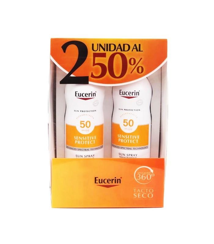 Eucerin Sun Protection SPF50 Sun Spray Transparent Dry Touch 2ºUnd 50%