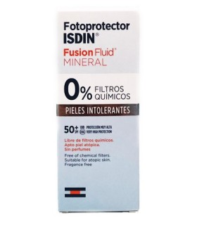 Isdin Fotoprotector SPF50 Fusion Fluid Mineral 50 ML