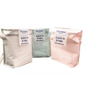 Mustela Bolsa Isotérmica Con Hydra Bebé 300 ML + Gel Baño Suave 200 ML + Crema Bálsamo 123 50 ML