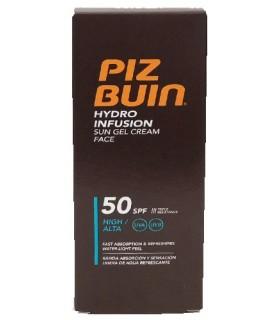 Piz Buin Hydro Infusión Crema Solar SPF50 Facial Gel 50 ML