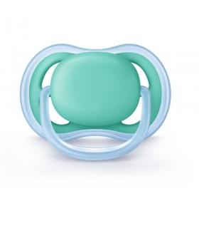 Philips Avent Chupete Silicona Ultra Air Azul 0- 6 Meses 1 Und