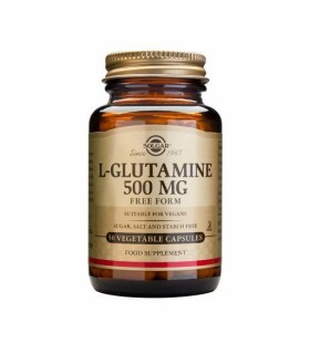 Solgar L-Glutamina 500 Mg 50 Capsulas