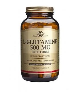 Solgar L-Glutamina 500 Mg 250 Capsulas