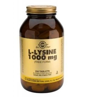 Solgar L-Lisina 1000 Mg 250 Capsulas