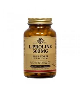 Solgar L-Prolina 500 Mg 100 Cápsulas