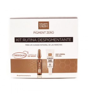 Martiderm Kit Rutina Despigmentante DSP Crema FPS50  + 5 Amp DSP Bright GRATIS