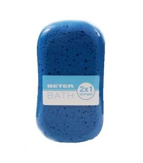 Beter Esponja de Baño Mixta Peeling