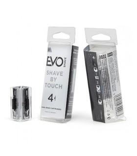 EVO Shave Recambios Cuchillas 4 Unidades