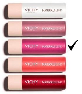 Vichy Natural Blend Bálsamo Labial Color Fucsia 4,5 G
