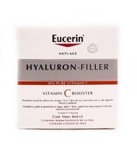 Eucerin Hyaluron Filler Vitamina C Booster 8 ML X 3 Unds