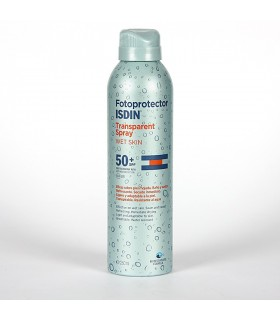 Isdin Fotoprotector SPF50 Spray Transparente Wet Skin 250 ML