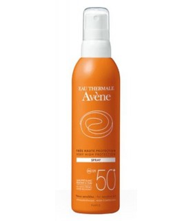 Avène Eau Thermale Spray SPF50 Pieles Sensibles 200 ML