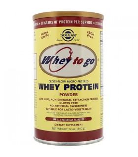 Solgar Whey To Go Proteina De Suero En Polvo Vainilla 340 G