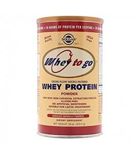 Solgar Whey To Go Proteína De Suero En Polvo Chocolate 454 G