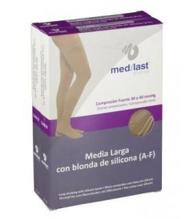 Medilast Pharma Media Larga (A-F) Compresión Fuerte Beige