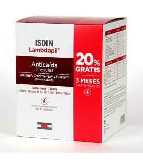 Isdin Lambdapil Anticaida 180 Cápsulas (Tratamiento 3 Meses)