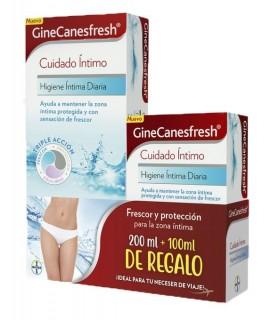 GineCanesfresh Higiene Intima Diaria 200 ML + GineCanesfresh Formato Viaje 100 ML REGALO