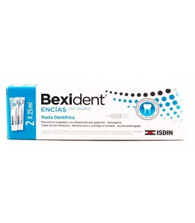 Bexident Encías Uso Diario Pasta Dental 2 X 25 ML
