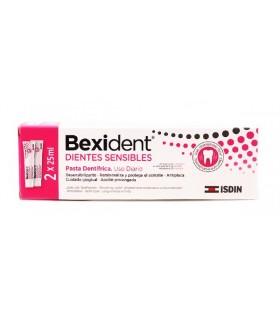 Bexident Dientes Sensibles Pasta Dentífrica 2 X 25 ML