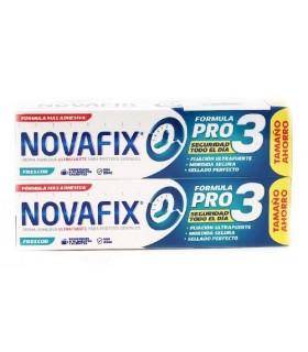 Novafix Fórmula Pro 3 Duplo Frescor 70 Gr + 70 Gr