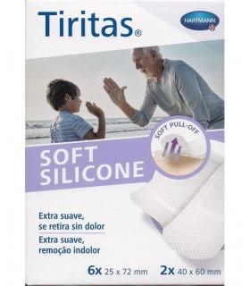 Hartmann Tiritas Soft Silicone Apósito Adhesivo 8 Unds