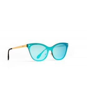 Acorvisión Gafas de Sol Unisex Lente Polarizada Espejo Verde