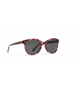 Acorvisión Gafas de Sol Señora Color Morado Lente Polarizada Gris