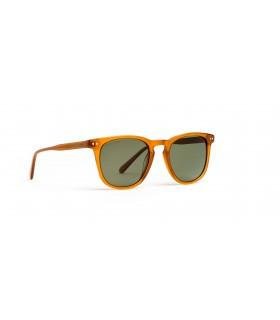 Acorvisión Gafas de Sol Unisex Color Marrón Lente Polarizada Verde