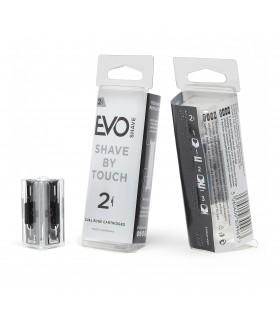 EVO Shave Recambios de Cuchillas 2 Unds