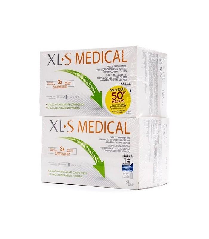 XLS Medical Captagrasas Pack 2 X 180 Comprimidos