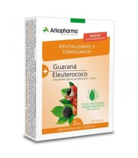 Arkopharma Guaraná + Eleuterococo 40 Cápsulas