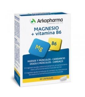 Arkopharma Magnesio + Vitamina B6 30 Capsulas
