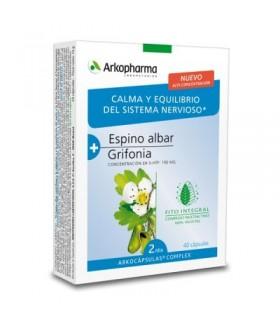Arkopharma Crataegus + Grifonia 40 Capsulas