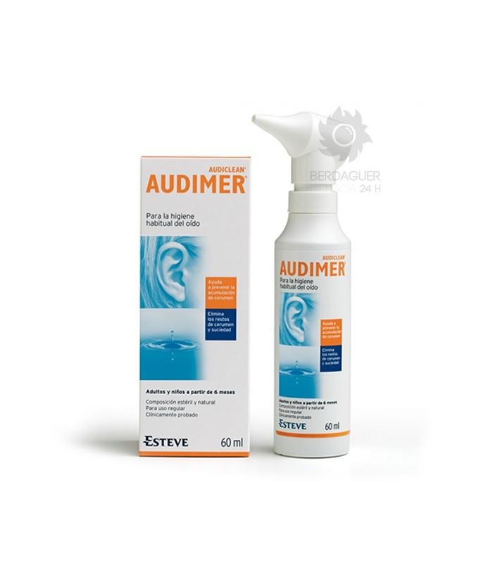 Audimer Limpieza Oidos 60 Ml