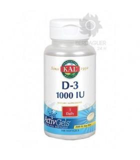 D-3 1000 IU 100 Perlas Blandas
