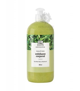Soivre Gel De Baño Exfoliante Te Verde 500 ml