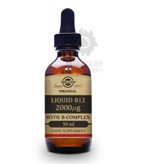 Solgar Sublingual Liquid B12 Con B-Complex 59 ml