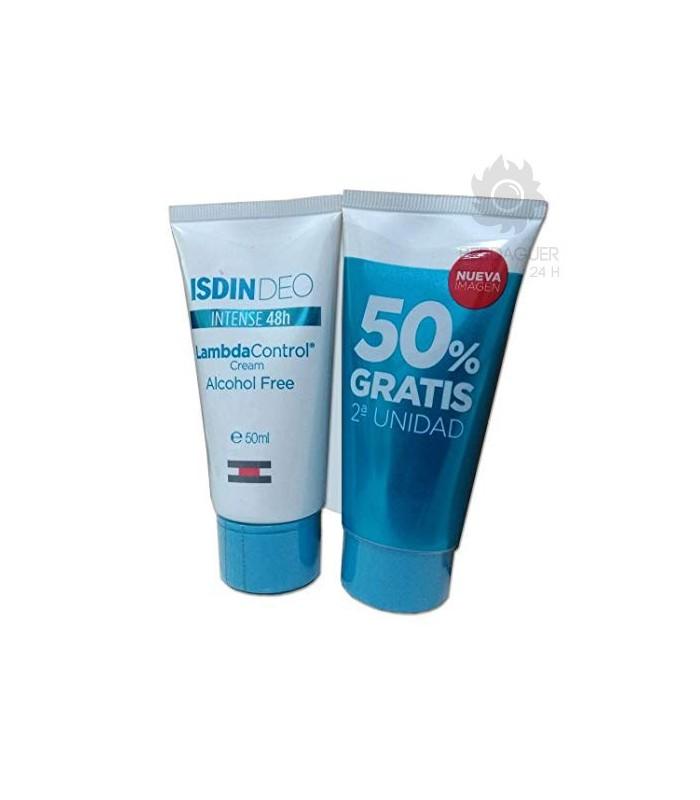 Isdin Lambda Crema  Desodorante 50 ml 2ª Unidad 50%
