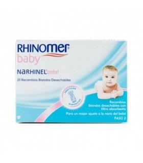 Rhinomer Narhinel Confort Aspirador 20 Recambios Blandos