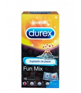 Durex Fun Mix Preservativos 12 U